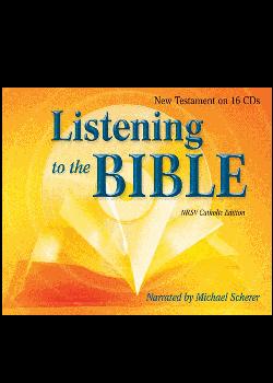 New Testament 16V Set (Listening To The Bible) Nrsv Cat