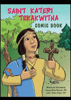St Kateri Tekakwitha Comic Book
