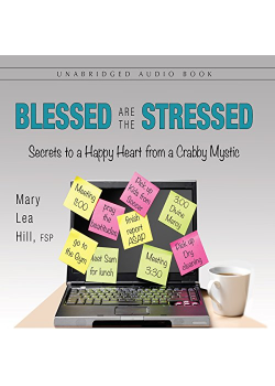 Blessed Are Stressed 4V Set Secrets To Happy Heart From Crabby M
