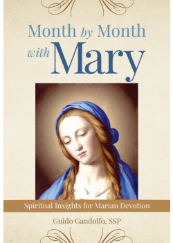 Month By Month With Mary  Spiritual Insights For Marian Devotion