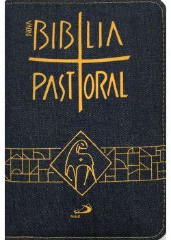 Nova Bíblia Pastoral - Média Zíper Jeans