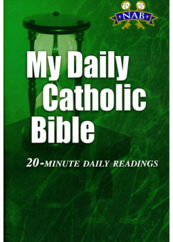 My Daily NABRE Cath Bible 20 Minute Daily